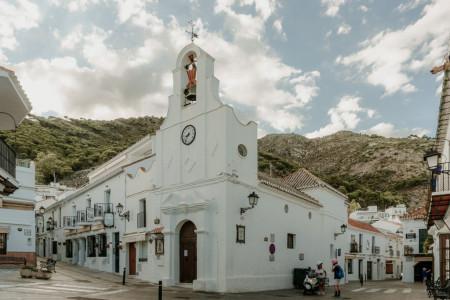 iglesia san sebastian mijas pueblo